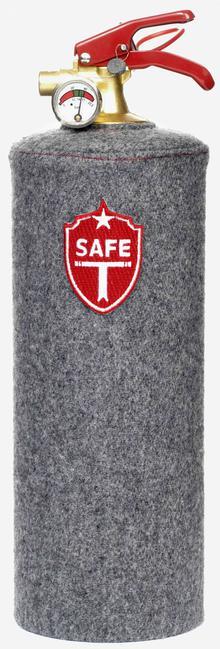 Brandsläckare - Grå Flannel