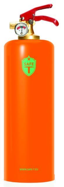 Brandsläckare - Orange