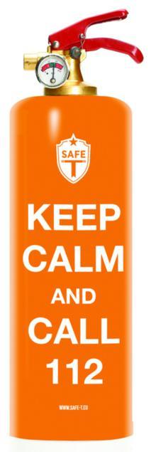 Brandsläckare - Keep Kalm