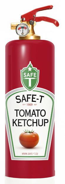 Brandsläckare - Ketchup