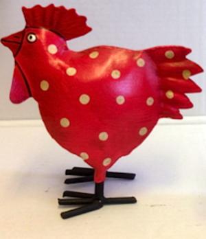 Lennart kyckling prickig