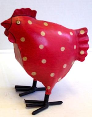 Wilma kyckling prickig