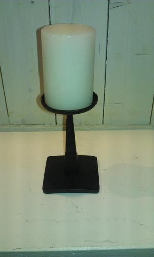Ljusstake Smide 15 cm Block