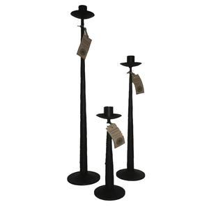 Ljusstake för ett ljus rund 25cm