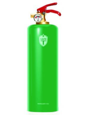 Brandsläckare - Green Neon