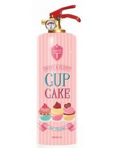 Brandsläckare - Cupcake