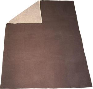 Haga Xtra Soft 130x180 vit/grå Jaquardvävd ullpläd