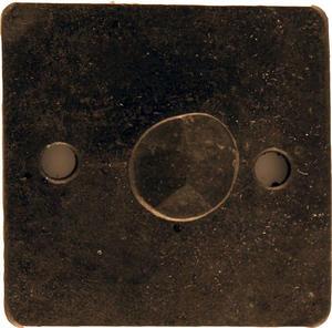Enknopp 6cm rund