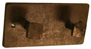 Tvåknopp 12cm fyrkant