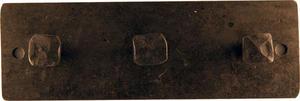 Treknopp 18cm fyrkant